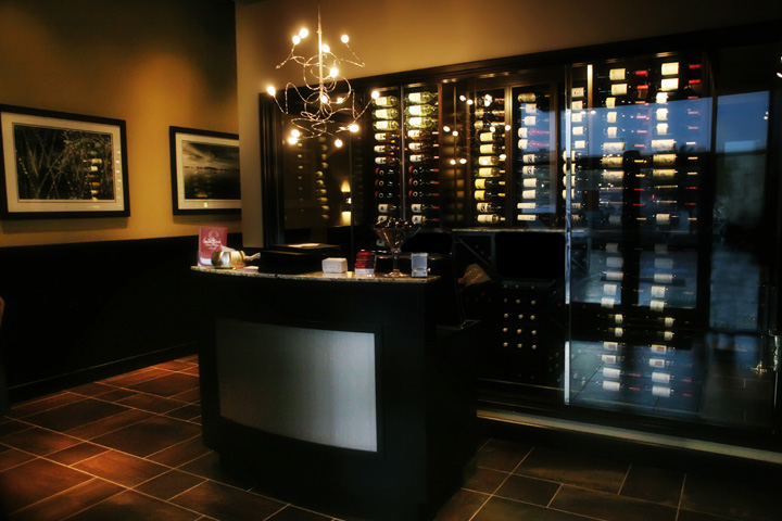 Arlington, TX Lobby Wine Room