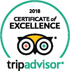 Trip Advisor 2018Certificate