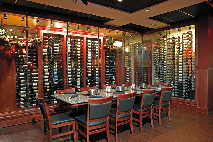 Melting Pot wine room