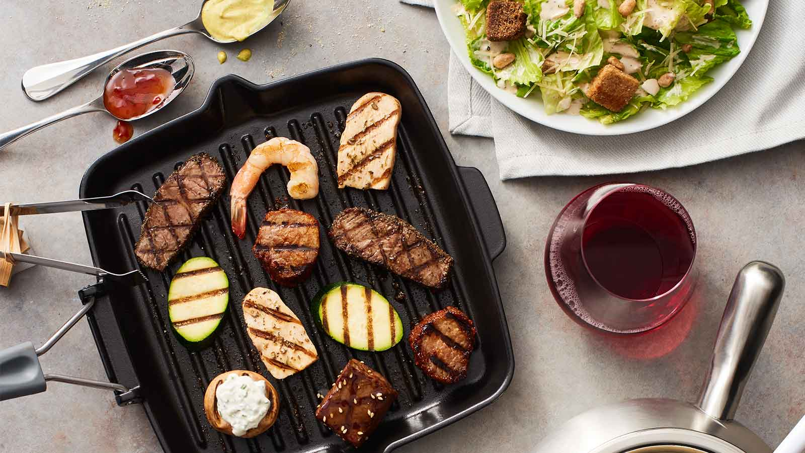 Grill Cooking Style