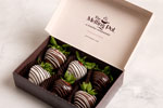 Six Chocolate-Covered Strawberries