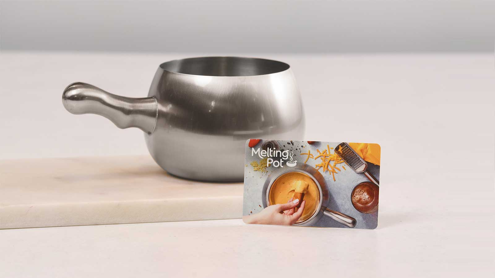 Melting Pot Gift Card and Melting Pot Mule Mug
