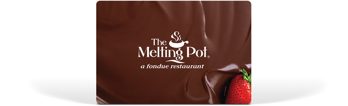 The Melting Pot Gift Card Fondue is always in good taste! Whether it's to congratulate the happy couple, to celebrate a milestone birthday, or just as an unexpected thank you gift, a Melting Pot gift card is always perfect for any fattfawolfke.mlon: Woodland Center, Tampa, , FL.