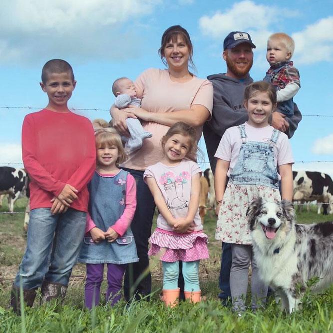 Kindred Creamery: Kindred Creamery Farming Family with Dog