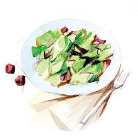The Melting Pot | Cheese Fondue | California Salad