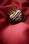 White Chocolate Covered Strawberry