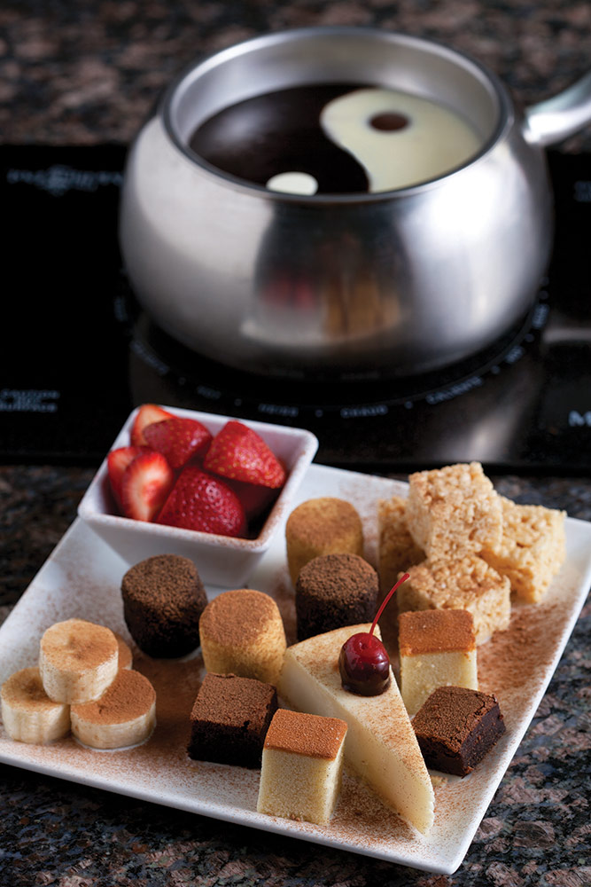 Specialty desserts at The Melting Pot Harrisburg, PA