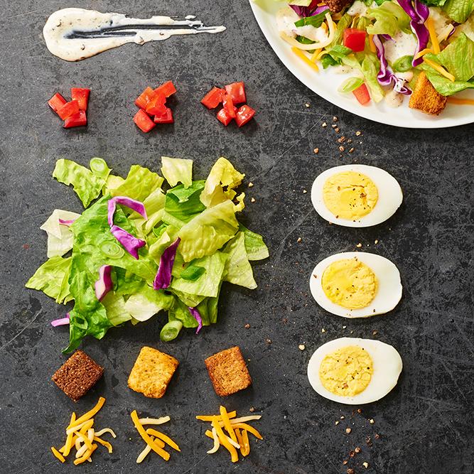 Salad and Fondue