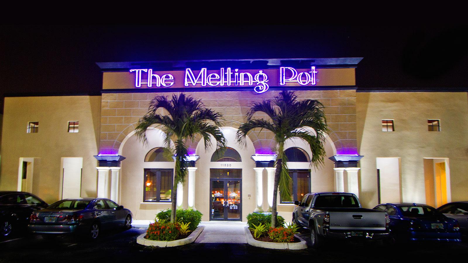 Fancy restaurant exterior - Friends At Our Miami Fl Restaurant