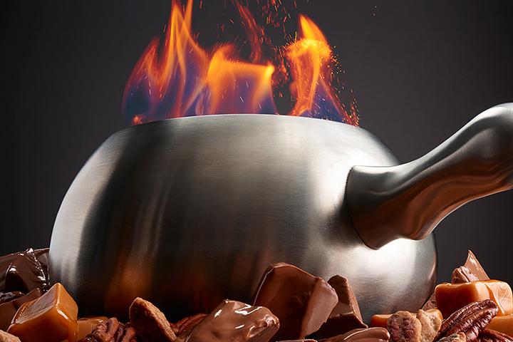 Fondue at The Melting Pot Nashville Tennessee