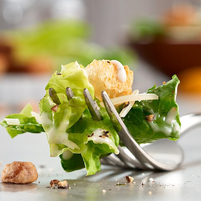 Caesar Salad and Fork
