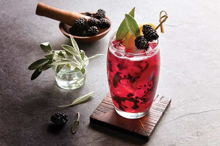Blackberry Sage Lemonade