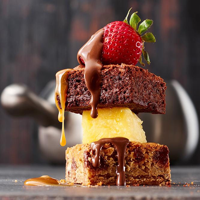 Specialty desserts at The Melting Pot Reston Virginia